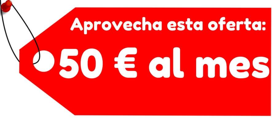 paquete seo por 50€ al mes con fran rodriguez community manager