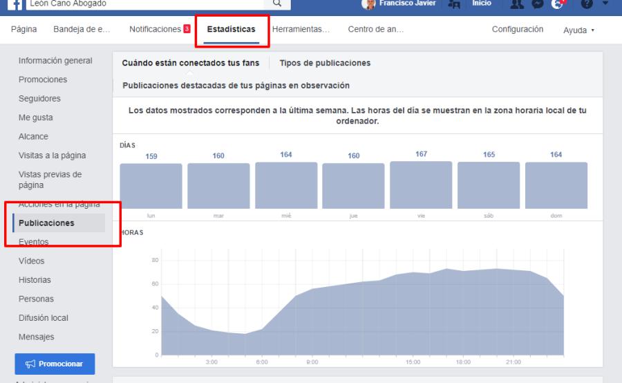 alcance de las publicaciones en facebook pagina de empresa